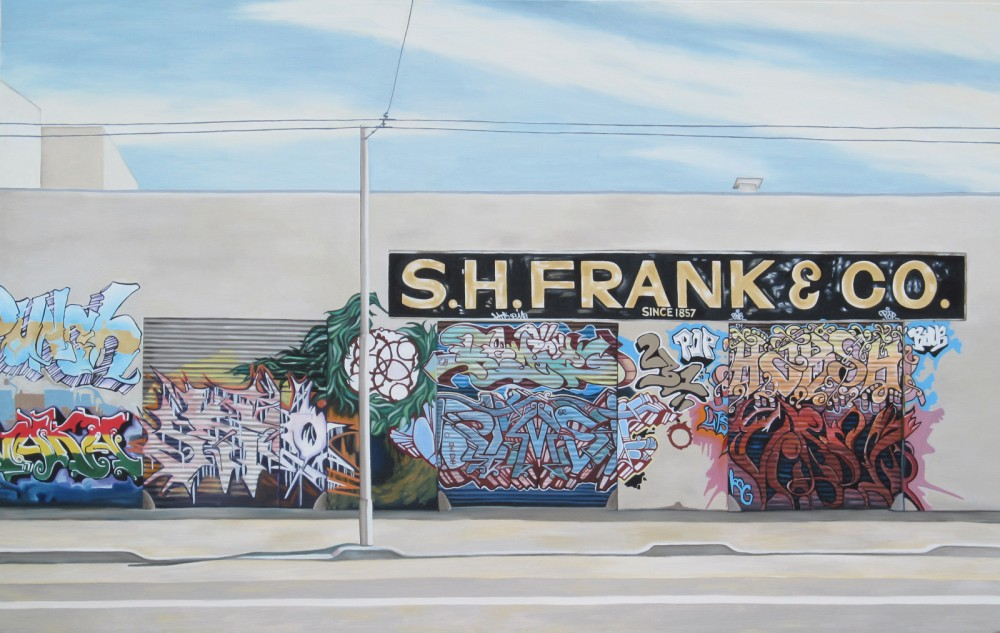 S.H. Frank, 2012, 30 x 48 inches