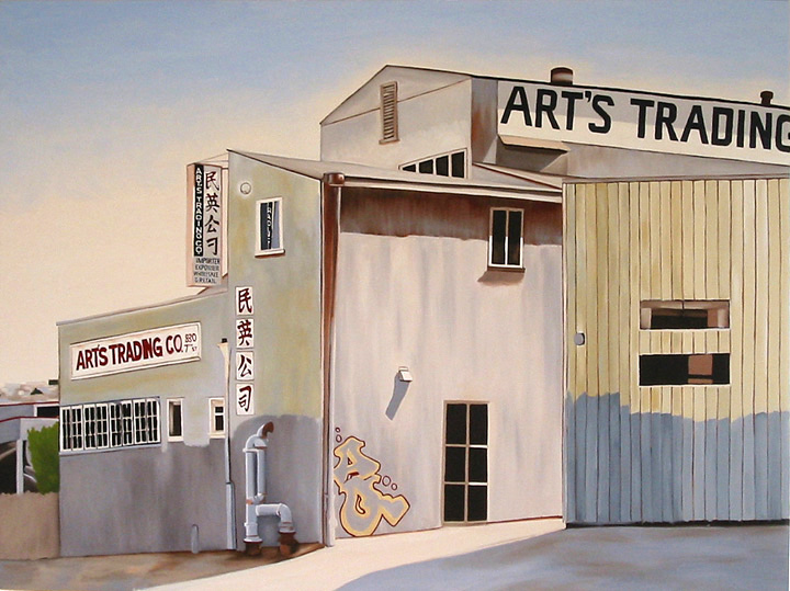 Art's Trading, 2008, 30 x 40 inches