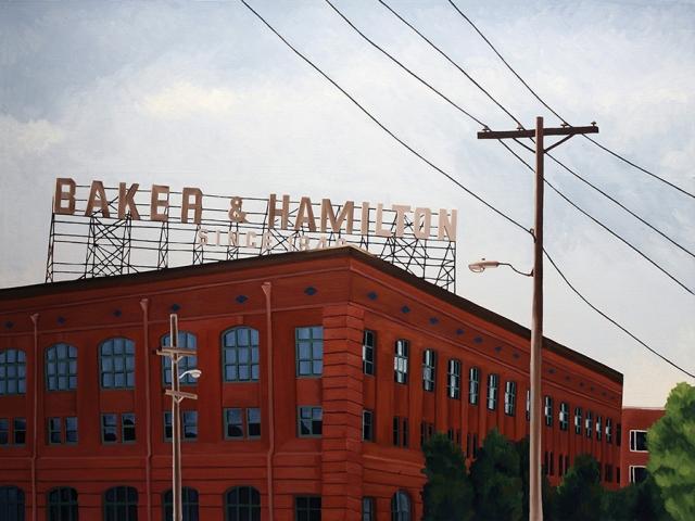 Baker & Hamilton, 2006, 30 x 40 inches