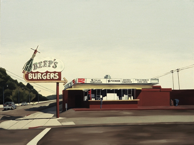 Beep's Burgers, 2005, 30 x 40 inches
