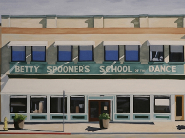 Betty Spooners, 2008, 16 x 34 inches