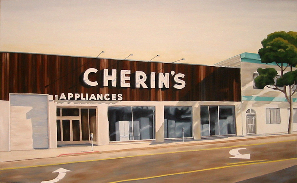 Cherin's, 2010, 22 x 36 inches