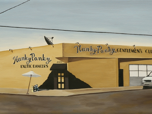 Hanky Panky, 2009, 12 x 20 inches