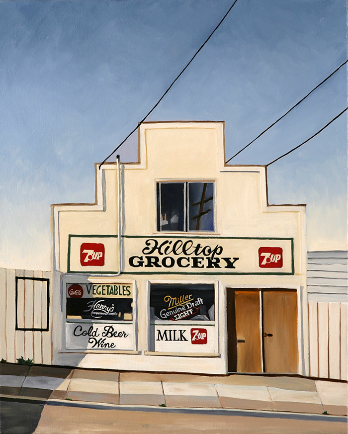 Hilltop Grocery, 2007, 20 x 16 inches