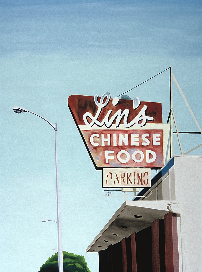 Lin's, 2001, 40 x 30 inches