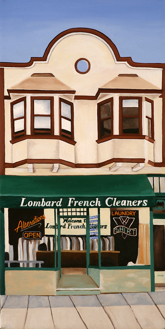Lombard French, 2008, 20 x 10 inches
