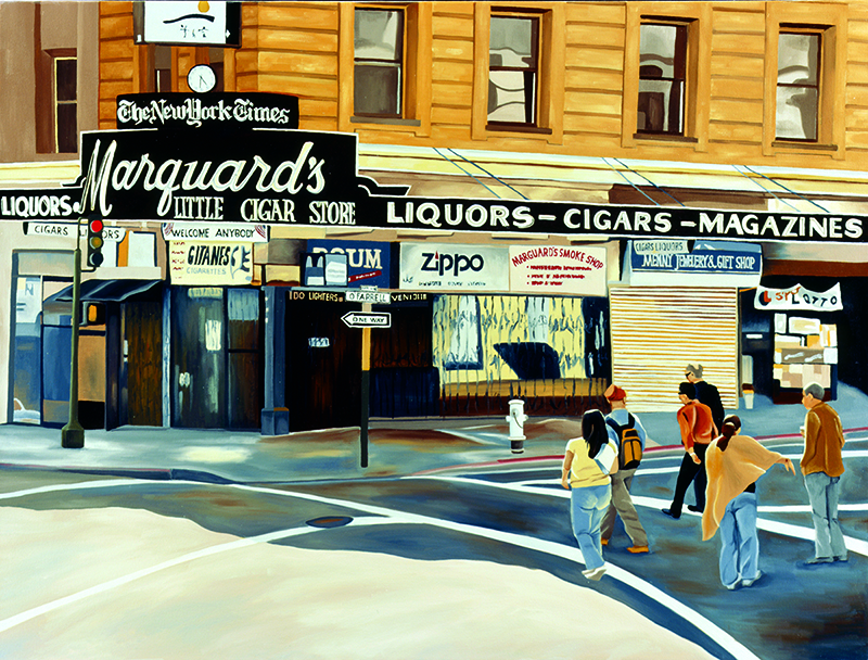 Marquard's, 2006, 30 x 40 inches