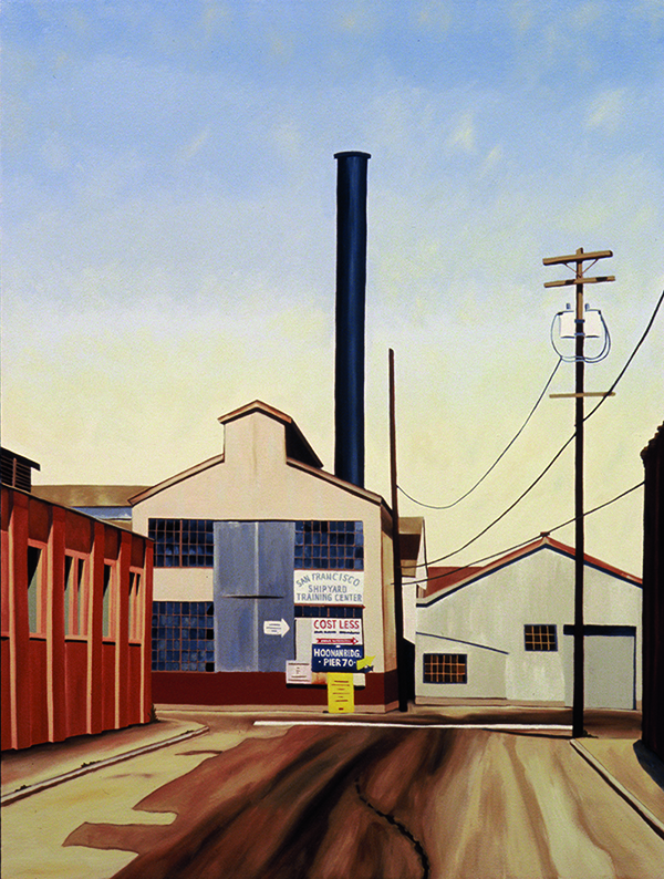 Pier 70, 2007, 40 x 30 inches