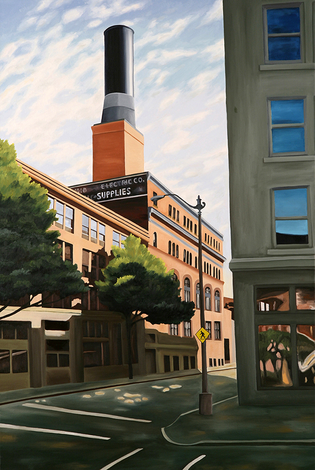 Pioneer Square, 2007, 42 x 28 inches