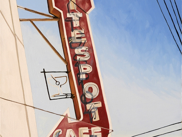 Rite Spot Cafe, 2007, 20 x 16 inches