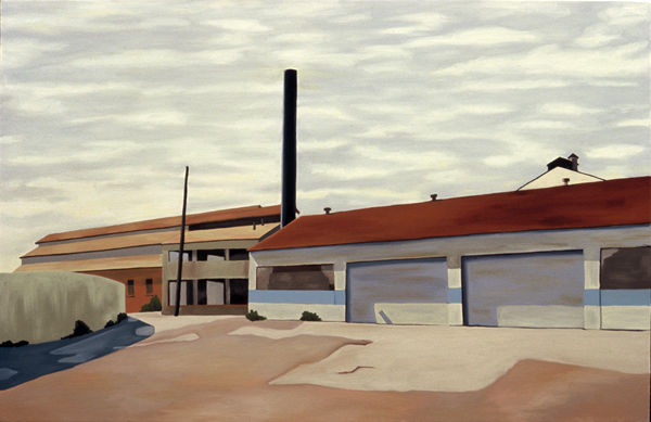 San Francisco Shipyard, 2006, 26 x 40 inches