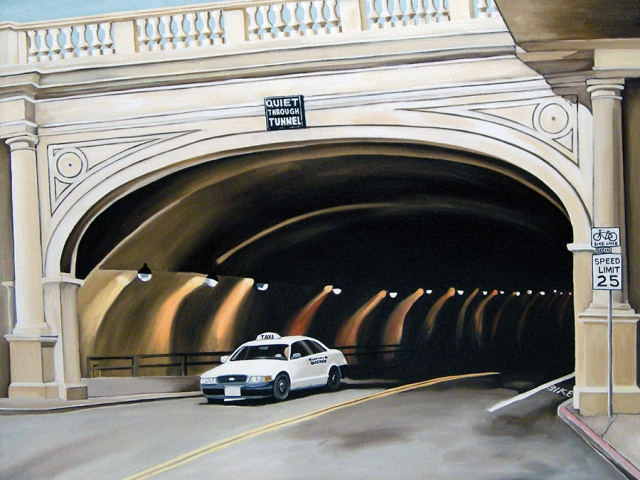 Stockton Tunnel, 2008, 20 x 26 inches