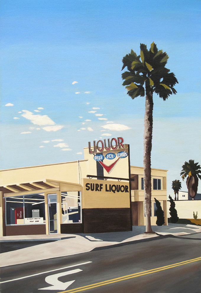 Surf Liquor, 2001, 40 x 30 inches