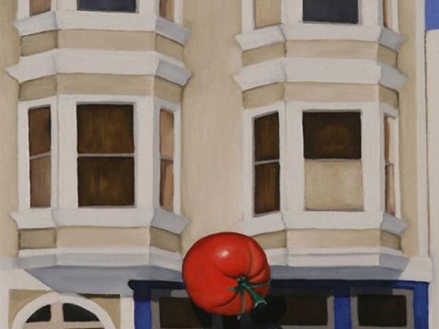 Tomato, 2008, 22 x 10 inches