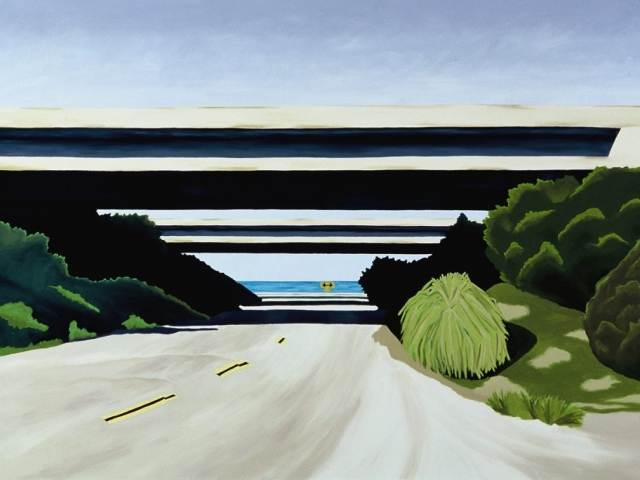 Ventura Freeway, 2001, 30 x 40 inches